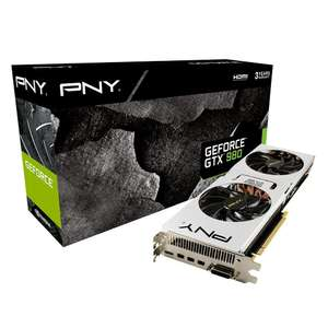 PNY GeForce GTX 980 Pure Performance 4096MB GDDR5 für 349€