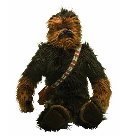 [ToysRUs] Für echte Star Wars Fans: 95cm große Chewbacca Plüschfigur für 42,92€ inkl. VSK statt ca. 90€