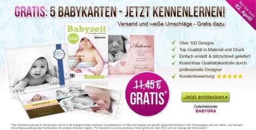 Babykarten für lau inkl. Versand