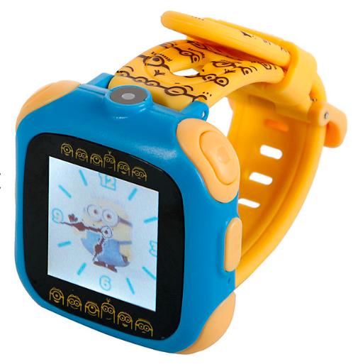 Jetzt für 22,94€ inkl. VSK [mytoys] Minions Smart Watch mit Kamera für 28,44€ inkl. VSK statt ca. 60€