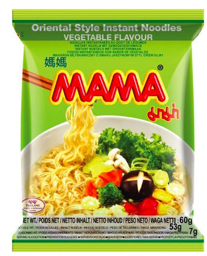 [Amazon Sparabo] Mama Instantnudeln, Sorte Gemüse, 24x 60g für 7,75€ im Sparabo statt ca. 14€