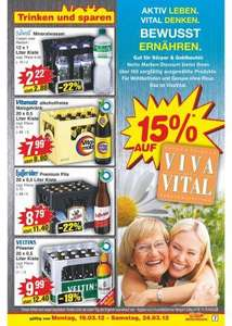 [offline] 15% auf Viva Vital @ Netto Marken-Discount