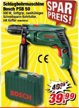 Bosch PSB 50 Schlagbohrmaschine bei POCO