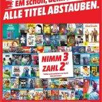 [Lokal Mülheim an der Ruhr] Nimm 3 Zahl 2 Aktion bei Media Markt