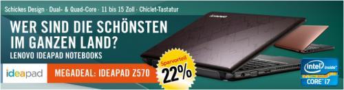 """Aus der TV Wrebung 15"""" Lenovo Z570 Vollausstattung nur noch 699,- (i7, Blu-ray Brenner und und und)"""