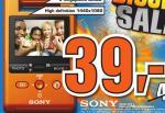 Sony Webbie MH5-PM1, HD Camcorder für 39€, Saturn Venlo