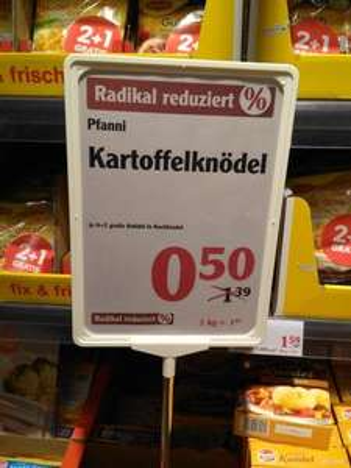 Pfanni Kartoffelknödel (Globus Homburg/Einöd)