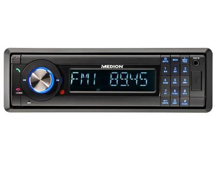 Medion Life P62033 (MD 84003) für 39,95€inkl VSK @ Medion - Autoradio inkl. Bluetooth-Freisprechfunktion mit CD/MP3-Player