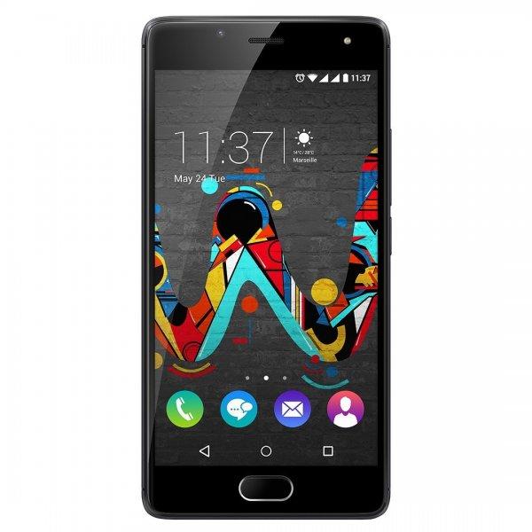 WIKO U Feel LTE-Dual-SIM Smartphone 12.7 cm (5 Zoll HD Display) 1.3 GHz Quad Core, 3 GB Ram, 16 GB intern, 13 Mio. Pixel, Android 6.0 Marshmallow Spacegrau inkl. Vsk für 170,59 € > [amazon.it]