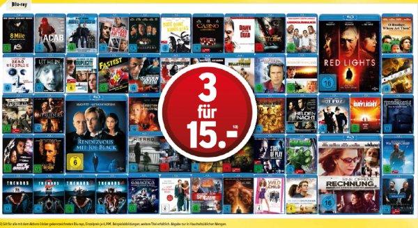 offline MediMax 3 Blu-ray  für 15€  zb Casino, Hot Fuzz, Waterworld