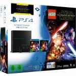 (Ebay) PlayStation 4 Konsole 1TB CUH-1216B inkl. LEGO Star Wars - Das Erwachen der Macht + Star Wars Blu-Ray für 299,- EUR
