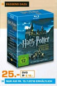 Harry Potter the Complete Collection - Blu Ray Box @Saturn [Witten] - nur HEUTE!