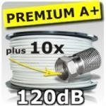 50m Satkabel 120dB Koax inkl. 10 SAT Stecker A50-10 bei eBay inkl. kostenlosen Versand