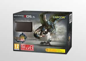 (Coolshop) Nintendo 3DS XL Monster Hunter 3: Ultimate Limited Edition für 134,95€