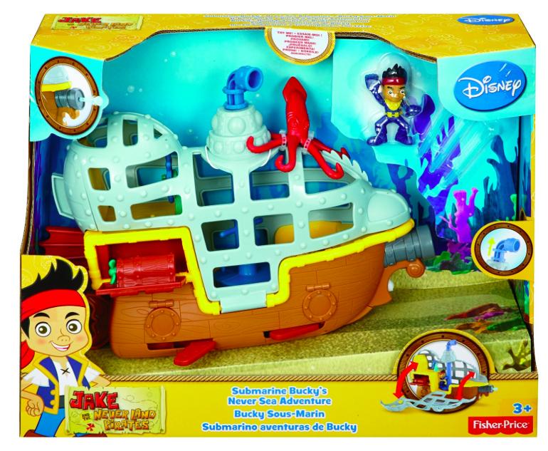 Update: jetzt für 7,77€ U-Boot Bucky mit [Amazon Prime] aus Jake und die Nimmerlandpiraten