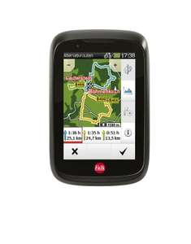 Falk Tiger Geo Fahrrad-Navigationsgerät für 99€ @mediamarkt.de