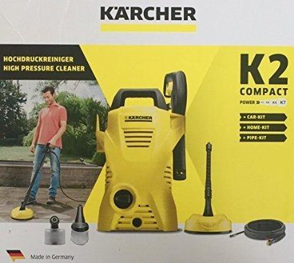 Kärcher K2 compact + car-kit + home-kit + pipe-kit (LOKAL Erfurt Kaufland Leipziger Straße)