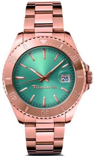Tamaris Damen-Armbanduhr Marina Analog Quarz Edelstahl B08202250  55,90€