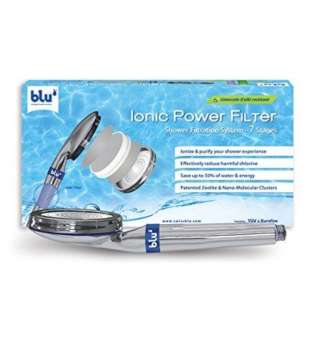 (Amazon) Filterduschkopf blu Ionic Power Filter für 29,90€ mit Prime