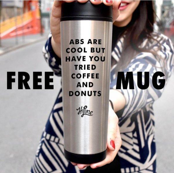 GRATIS Edelstahl Kaffeebecher bei Kauf eines Kaffees