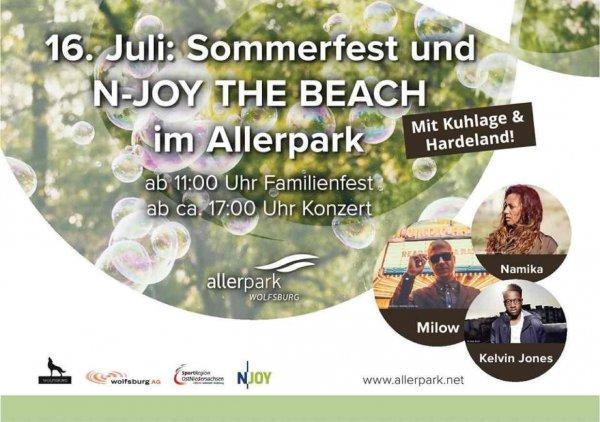 Gratis (Eintritt) zu Namika, Milow und Kelvin Jones am 16. Juli in Wolfsburg