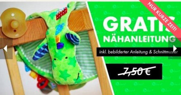 eBook für Drachen Schnuffeltuch / Knistertuch / Schnullerdrache gratis bei [Makerist] statt 7,50€