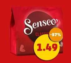 Penny: Senseo-Pads 1,49 €