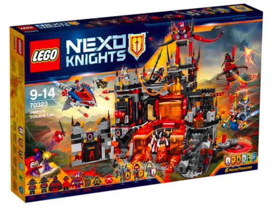 LEGO Nexo Knights Jestros Vulkanfestung 70323 für 84,99€ bei [GALERIA Kaufhof] statt ca. 96€ + 15% auf Lego Nexo Knights