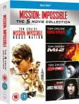 [Zavvi.de]Mission Impossible - 1-5 Boxset Blu-ray inkl. deutscher Tonspur (Teil 1-3 + 5)