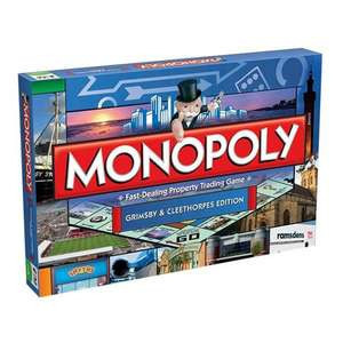 Monopoly - Grimsby & Cleethorpes Edition für 14,79 € @ Amazon UK