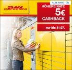 (Qipu) DHL Packstation: 5€ Cashback für Anmeldung bei der Packstation