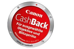 """Canon Cashback für Profi-Foto-Zubehör """"Objektive oder Blitze"""""""