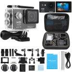 Amazon - Actioncam (2,0 Zoll 170 Grad Ultra-Weitwinkel Objektiv Full-HD) mit Zubehörpaket für 55,47€