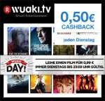 Wuaki Day Film für 0,99€ leihen und 0,50€ Qipu Cashback erhalten