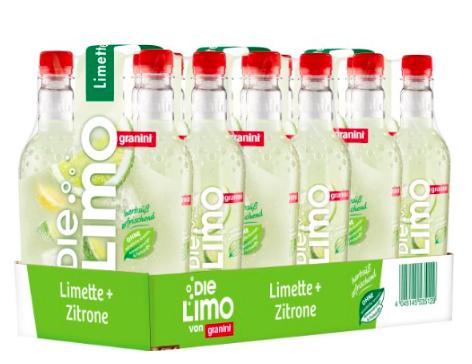 Die Limo Limette Zitrone 18x500ml von granini für 9,63€ + 4,50€ Pfand bei [Amazon Prime] statt ca. 23€