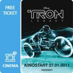 Für O2 Kunden : Kostenlose Tron Preview-Tickets