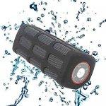 [amazon-BLITZSANGEBOT] Expower Outdoor Stereolautsprecher S7720 Sport-Variante, spritzwassergeschützt , Schocksicher, Kabellos, Bluetooth Lautsprecher bulid in 7000mAh Power Bank schwarz
