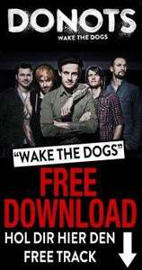 "Gratis Download Donots ""Wake the Dogs""  MP3"