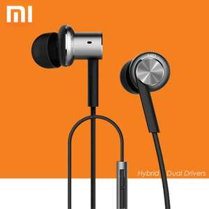 [Everbuying Neuaccount] Xiaomi Mi 4 In-Ear 3.5mm Hybrid Dual Drivers - silver