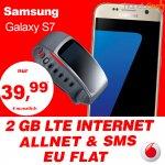 [Handyflash] Galaxy S7 + Vodafone 2GB Allnetflat + EU Flat + Samsung Gear Fit 2 für 39,99 EUR mtl.