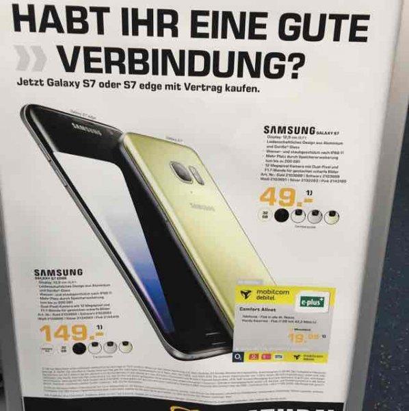 UPDATE!! [Lokal Saturn Weiterstadt LOOP5] Samsung S7 mit Allnet Tarif