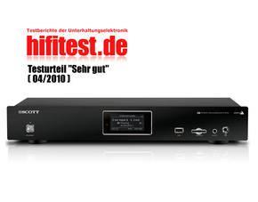 SCOTT DXi 80 WL INTERNETRADIO (USB - SD/MMC, Optischer A., WIFI für 79,98€ inkl VSK