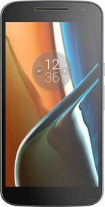 Moto G4 LTE (5,5 FHD IPS, Snapdragon 617 Octacore, 2GB RAM, 16GB intern [inkl. Fusion Storage], 13MP + 5MP Kamera, kein Hybrid-Slot, 3000mAh inkl. TurboPower, Android 6) für ~168€ [Amazon.co.uk]