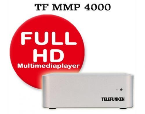 Allesfresser – Telefunken MMP 4000-SE FullHD Multimediaplayer für 62,95€ inkl. Versand @ MP