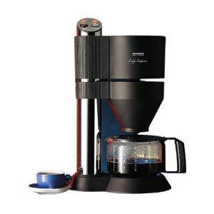"[Amazon Osternest] Severin KA 5700 Kaffeeautomat ""Café Caprice"", Edelstahl-gebürstet-schwarz / 2-8 Tassen / 1450 W"