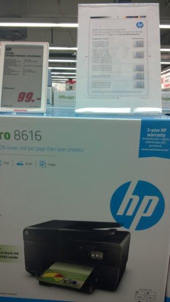 HP OfficeJet Pro 8616 + extra schwarze Patrone für 79,00 € durch Cashback (evtl. Lokal)
