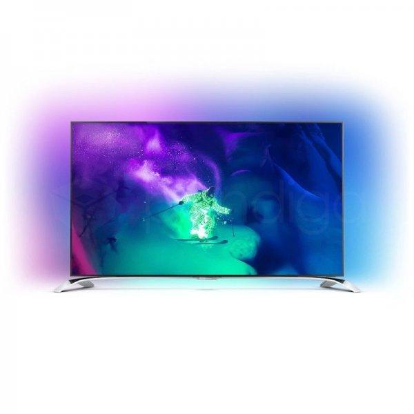 Philips 55PUS9109 4K UHD TV mit 3D (3840x2160 Pixel), Android TV (4.4) (Ambilight 4-Seiten), 1000 HZ PMR Ultra HD, Subwoofer, 2x Active Brillen für 1199€ incl. Spedition @ebay.de (Versandrückläufer ohne Gebrauchsspuren mit 2 Jahren Garantie)