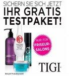 Tigi Testpaket mit Beauty Artikeln Kostenlos für Saloninhaber