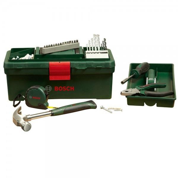 [Real] Bosch Werkzeugkoffer mit Zubehör 64tlg. (versandkostenfrei)