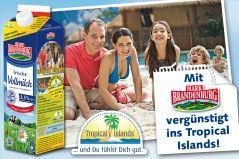 5x Frischmilch kaufen und 2 für 1 ins Tropical Islands